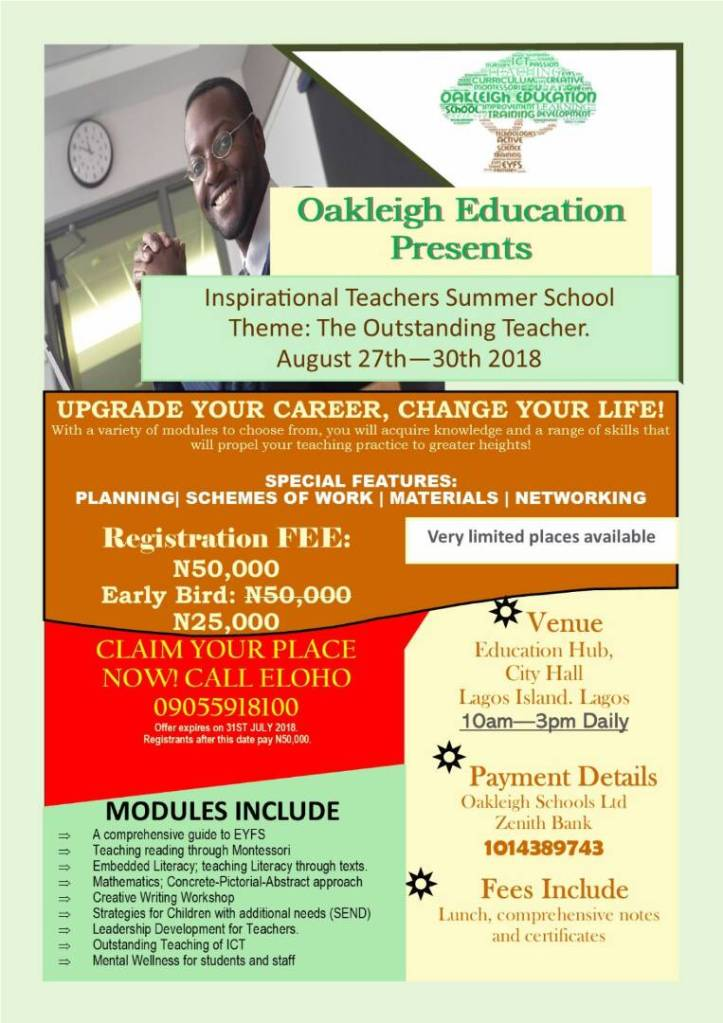 trainingsch flyer